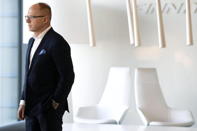 Finnairin toimitusjohtaja Pekka Vauramo.
