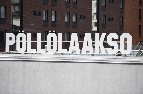 MTV:n toimitiloja Helsingissä.