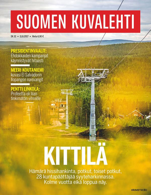 Kittilän kriisi on Suomen Kuvalehden kansijuttu 11. elokuuta 2017.