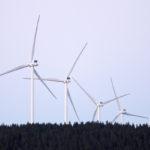 Santavuoren tuulivoimapuisto Ilmajoella 29. kesäkuuta 2017.
