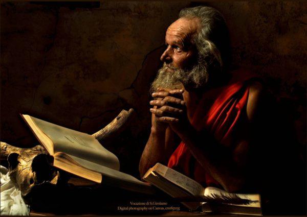 Andrea Angione: Pyhän Hieronymuksen kutsumus.