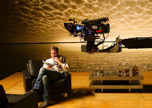 Denis Villeneuve Blade Runner 2049:n kuvauksissa.