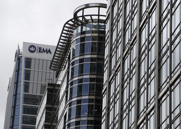Euroopan lääkevirasto EMA Lontoossa heinäkuussa 2017.