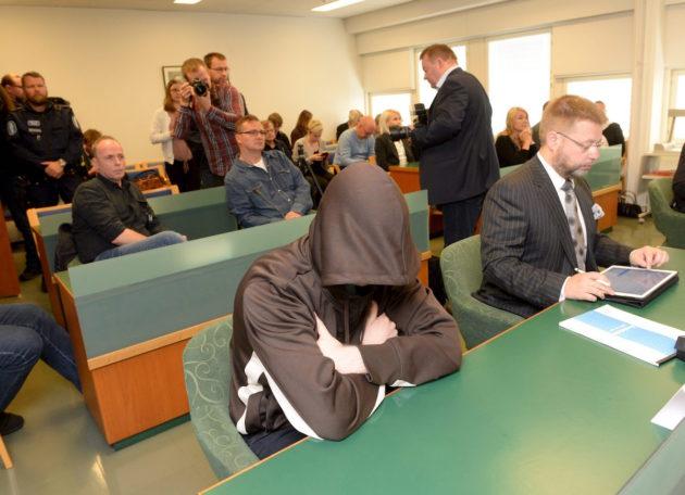 Imatran joulukuun 2016 kolmoissurman pääkäsittely Etelä-Karjalan käräjäoikeudessa Imatralla tiistaina 29. elokuuta 2017.