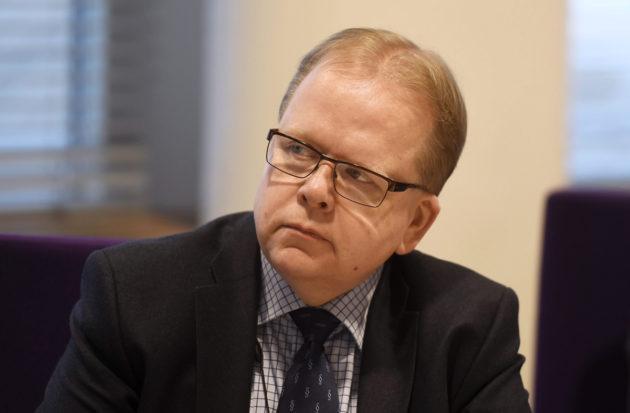 Työ- ja elinkeinoministeriön ylijohtaja Pekka Timonen Helsingissä 8. marraskuuta 2016.