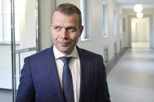 Valtiovarainministeri Petteri Orpo Helsingissä 7. syyskuuta 2017.
