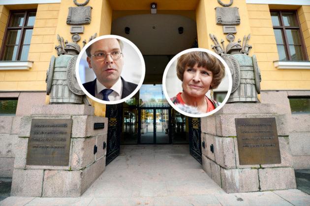 Liikenneministeri Anne Berner jarruttaa puolustusministeri Jussi Niinistölle tärkeää lakihanketta.