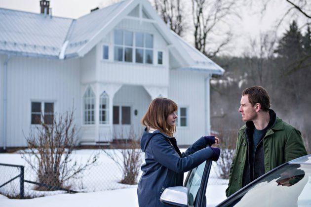Rebecca Ferguson ja Michael Fassbender Lumiukko-elokuvassa.