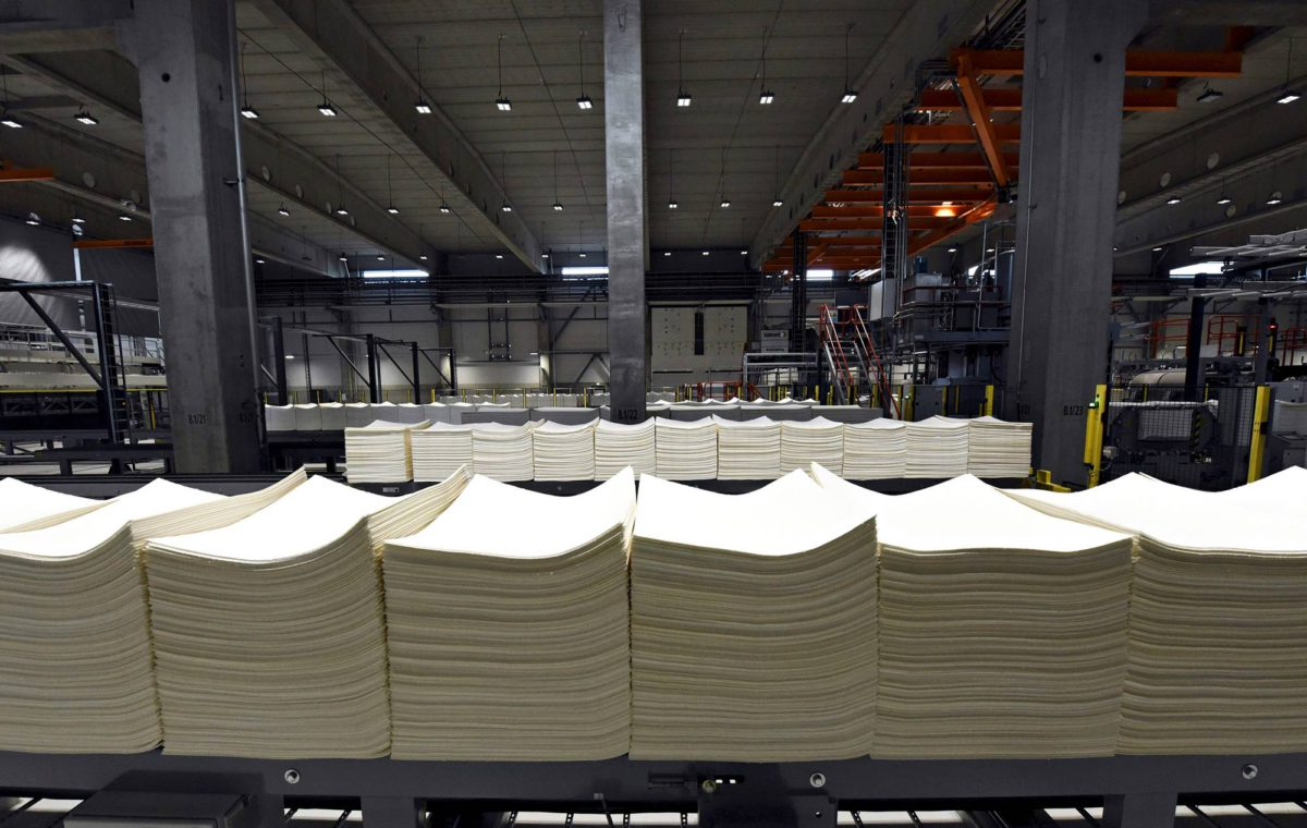 Sellupaali matkaa kaksi kuukautta Äänekosken biotuotetehtaalta Kiinaan.