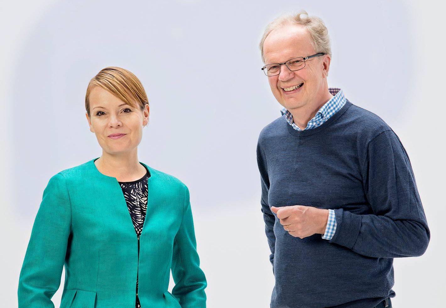 Mari K. Niemi ja Uno Hämäläinen.