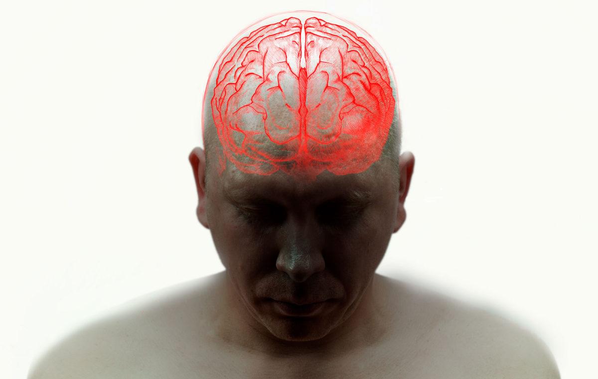 Kuvituskuva aivoista.