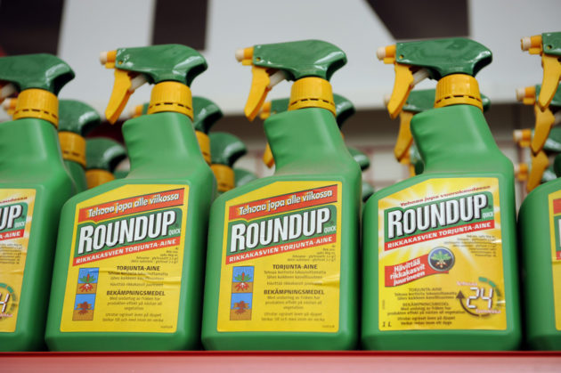 Glyfosaattia myydään muun muassa kauppanimellä Roundup.