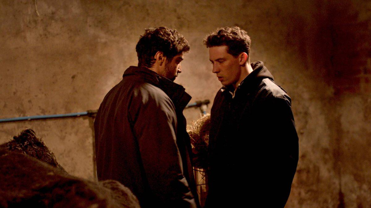 Gheorghe (Alec Secarenau) ja Johnny (Josh O'Connor).