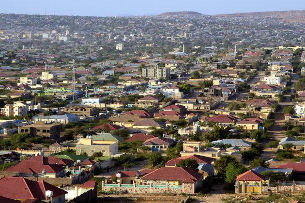 Somalimaan pääkaupunki Hargeisa.