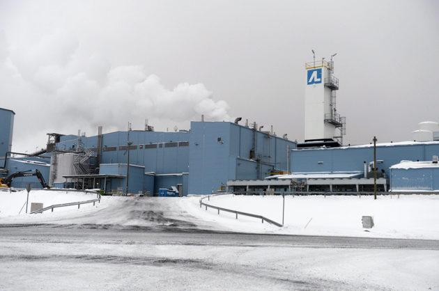 Agnico Eagle Finlandin Kittilän kultakaivoksen rikastamo.