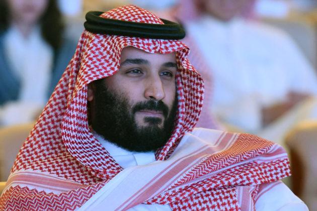 Saudi-Arabian kruununprinssi Mohammad bin Salman Riadissa 24. lokakuuta 2017.