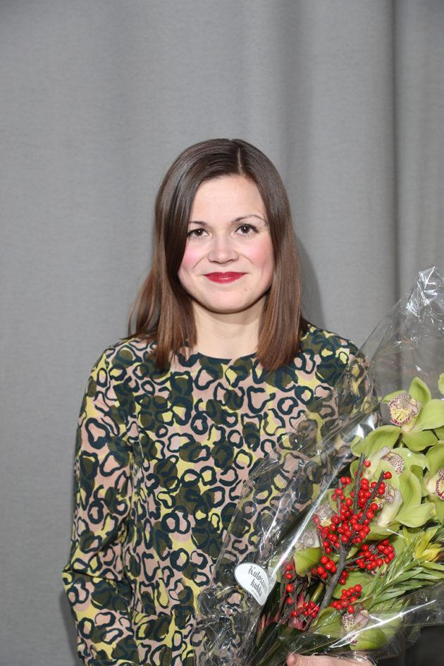 Sonja Saarikoski on vuoden nuori aikakauslehtitoimittaja.