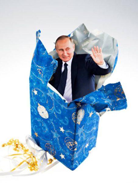 Venäjän lahja Suomelle: presidentti Vladimir Putin kävi kylässä 27. heinäkuuta 2017.