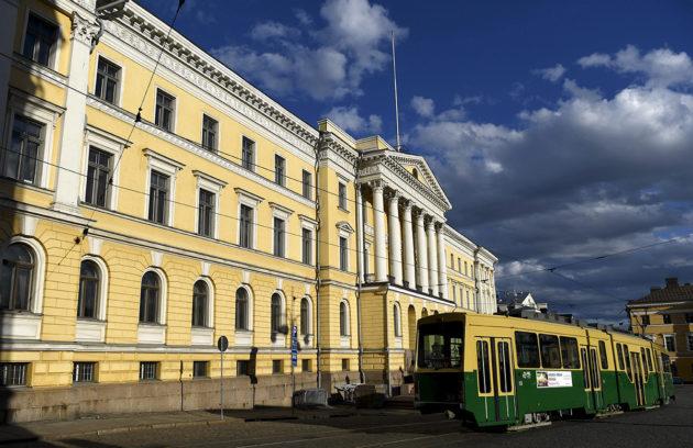 Valtioneuvoston linna perjantaina 26. toukokuuta 2017.