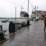 Volendamin rantakatu Hollannissa 23. helmikuuta 2017.