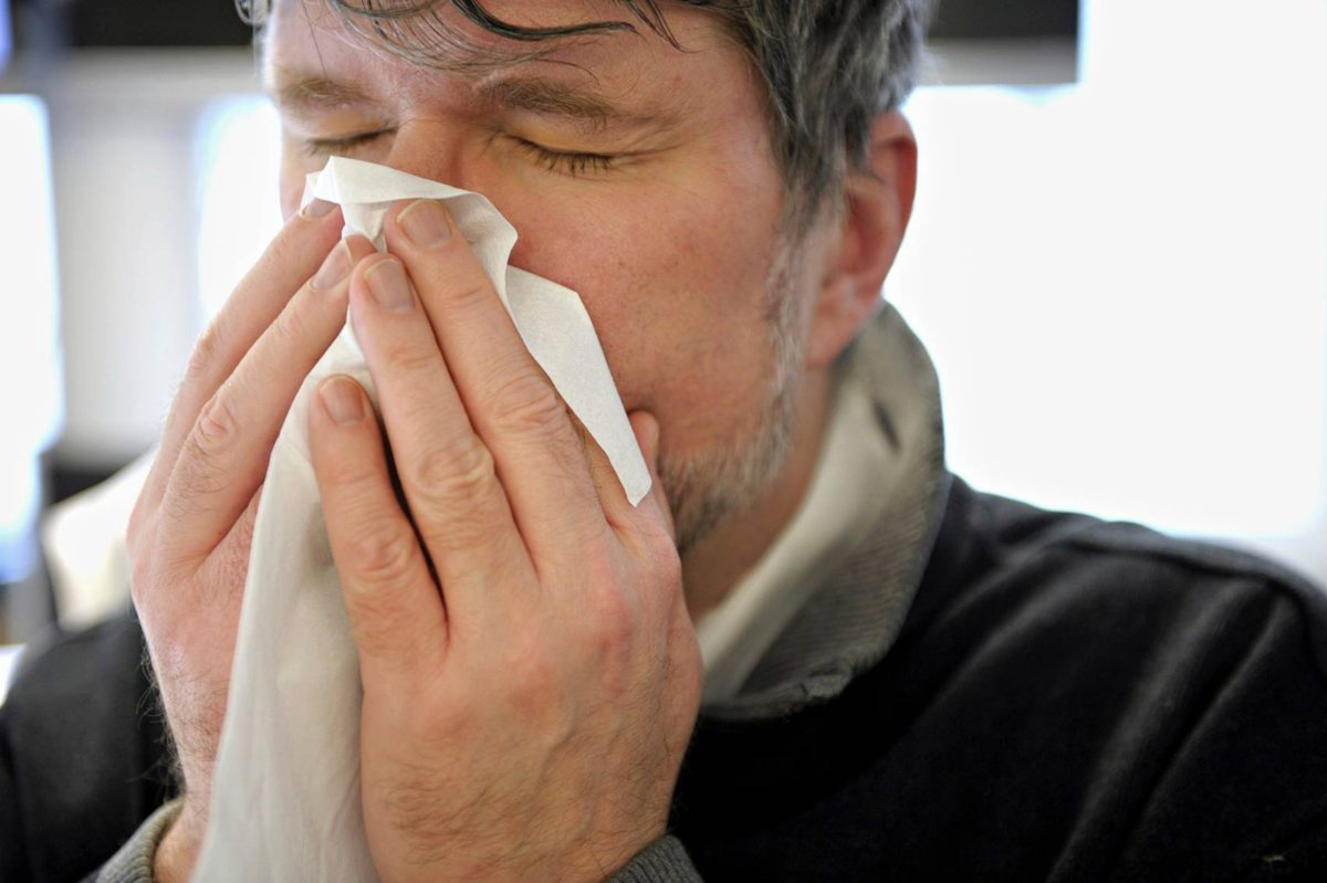 miesten flunssa