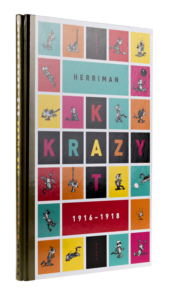 George Herriman: Krazy Kat 1916–1918. Suom. Heikki Kaukoranta. 159 s. Otava, 2017.
