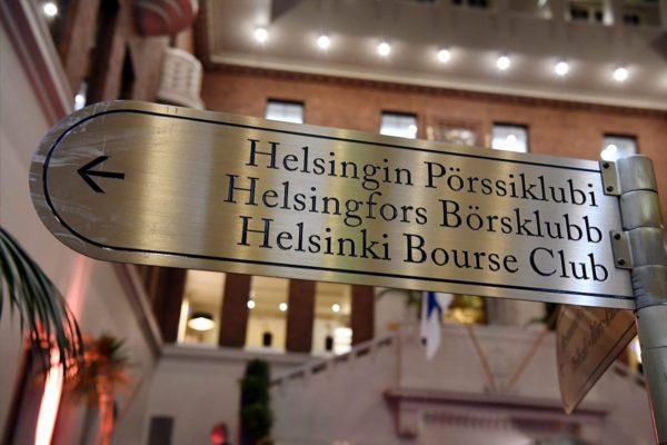 Pörssiklubi Pörssitalossa Helsingissä. Herrainklubi on perustettu vuonna 1910.