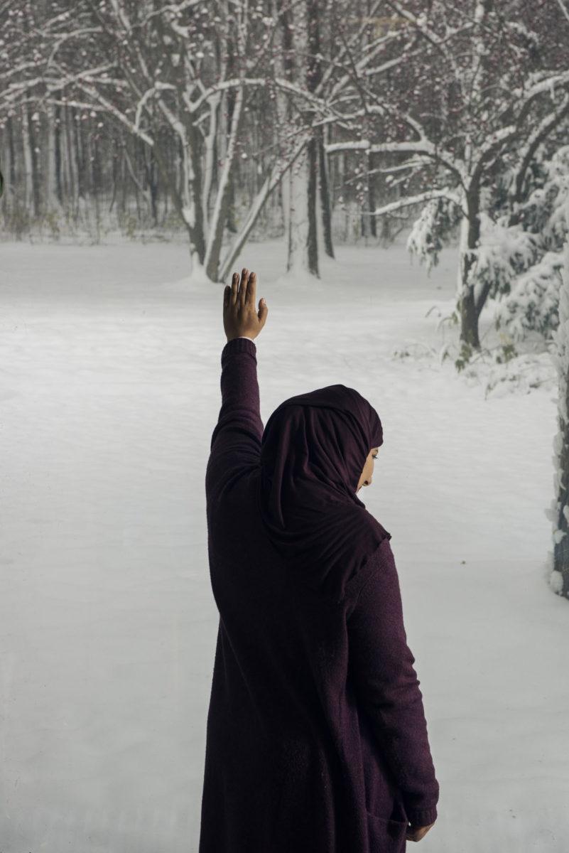 Saudiarabialainen opettaja Lolo Alshagroud tutustui Suomeen ja suomalaiseen peruskouluun Tampereella.