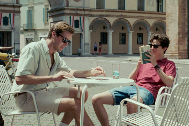 Armie Hammer ja Timothée Chalamet elokuvassa Call Me By Your Name. © SONY PICTURES