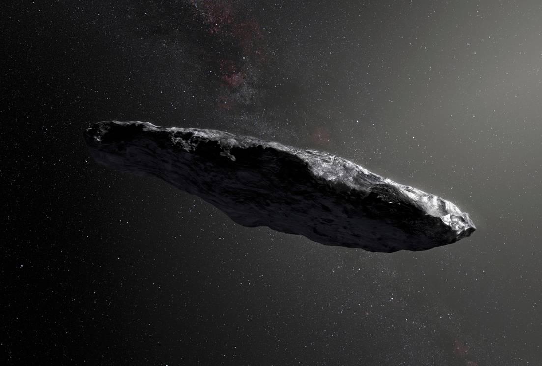 Taiteilijan näkemys 'Oumuamuasta.
