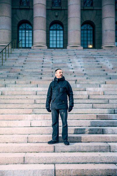 Martin-Éric Racinesta tuli työttömien äänitorvi.