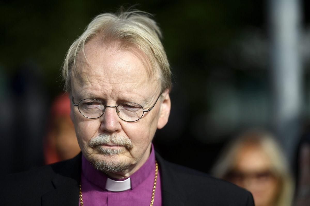 Arkkipiispa Kari Mäkinen elokuussa 2017.