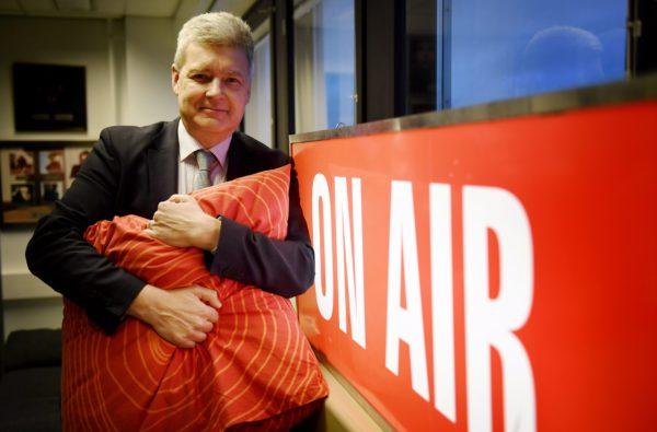 Yleisradion toimitusjohtaja Lauri Kivinen kertoi yllätyslähdöstään 25. tammikuuta 2018.