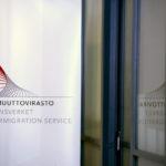 Maahanmuuttovirasto Helsingissä.