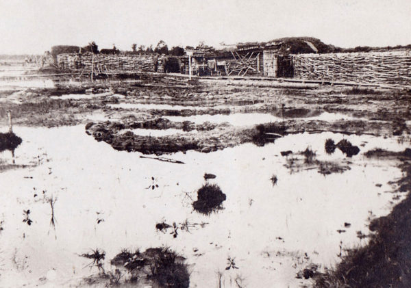 Arvo Pollari vietti kesän 1916 Misse-joen soisissa maisemissa.