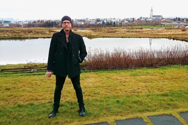 Islantilaisen Fangar-sarjan ohjaaja Ragnar Bragason Reykjavikissa.