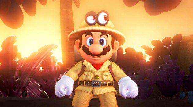 Mario pysyy kärjessä.
