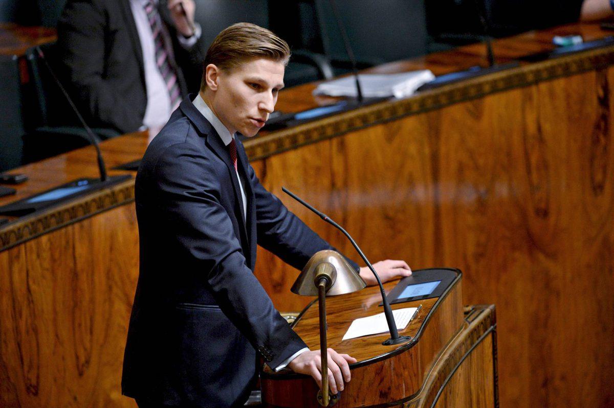 Oikeusministeri Antti Häkkänen.