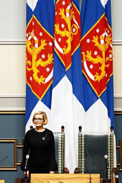 Paula Risikosta tulee eduskunnan uusi puhemies.