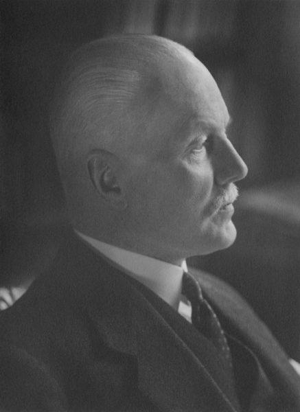 Alvar Renqvistin syntymästä on 150 vuotta. Renqvist vuonna 1930.