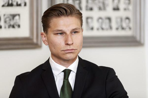 Oikeusministeri Antti Häkkänen (kok) 5. helmikuuta 2018.