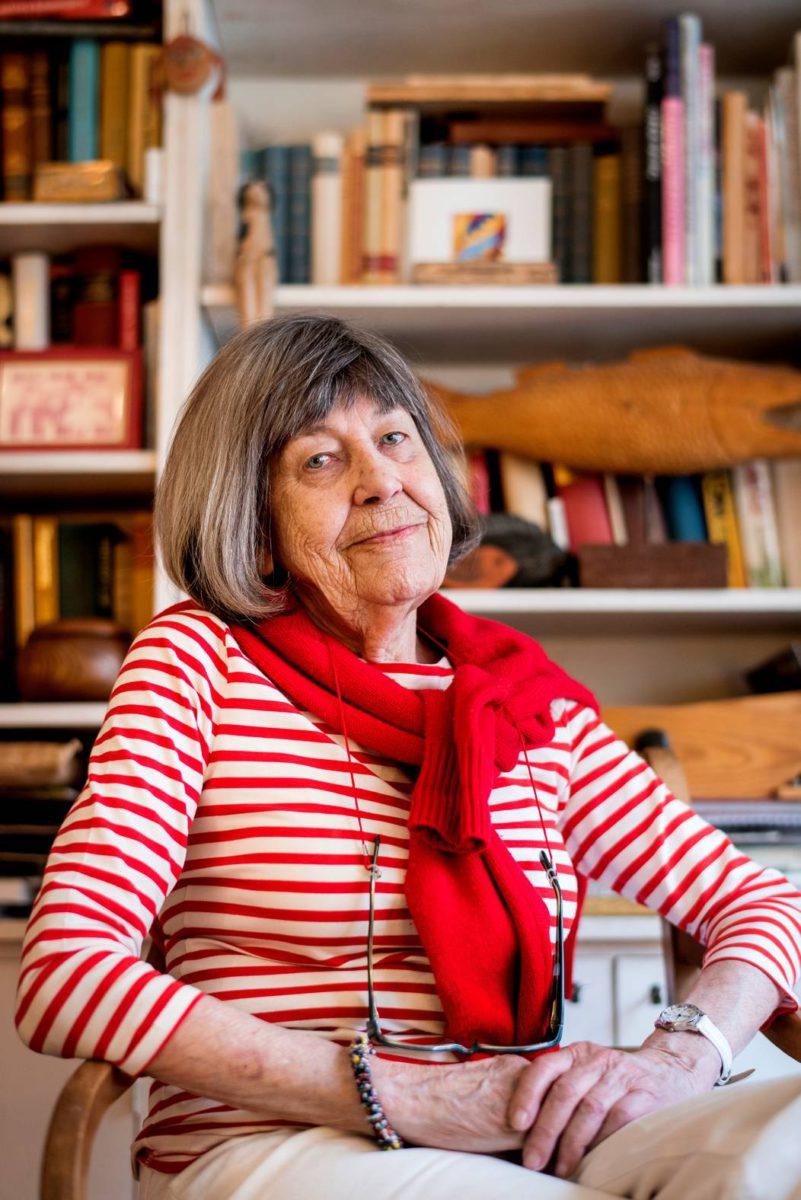 Margareta Magnusson arvostaa järjestystä.