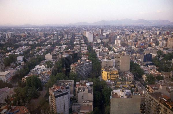 Yleiskuva Mexico Citystä.