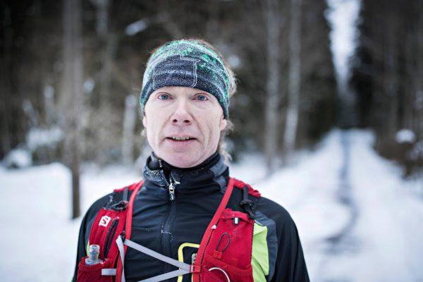 Mikael Heerman on juossut 48 tunnissa 382 kilometriä.