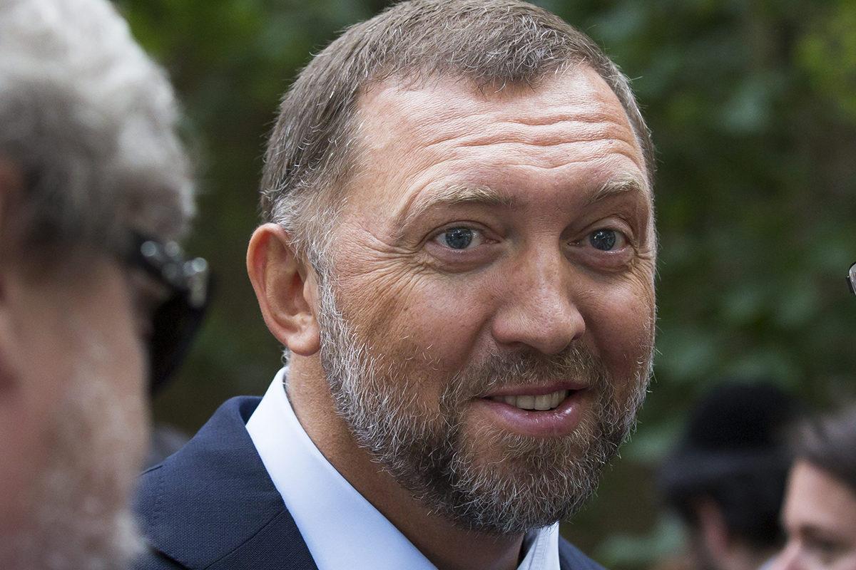 Oleg Deripaska kesällä 2015.
