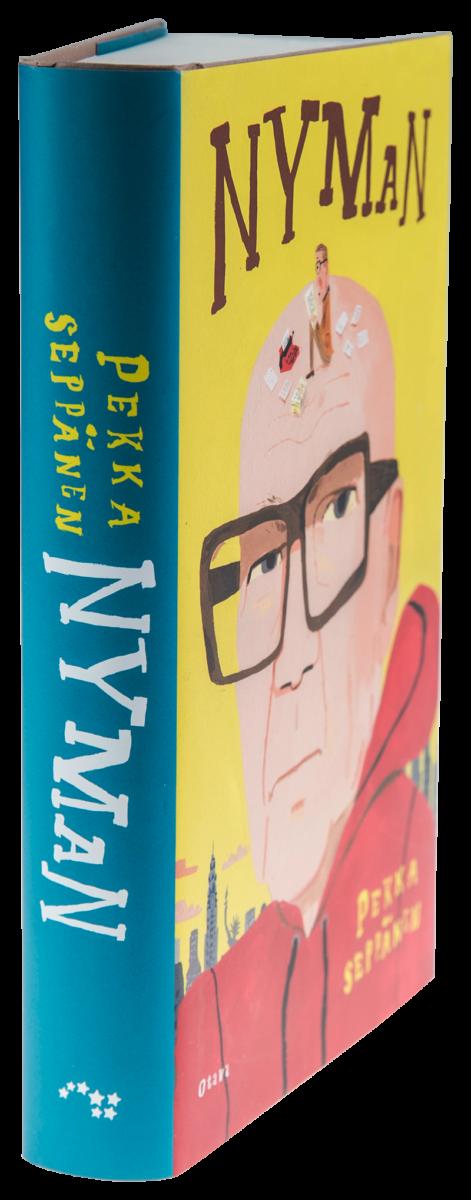 Pekka Seppänen: Nyman. 477 s, Otava, 2018.