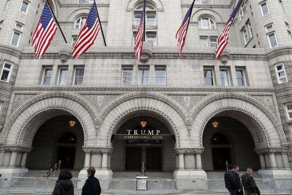 Trump International Hotel Washingtonissa Yhdysvalloissa.