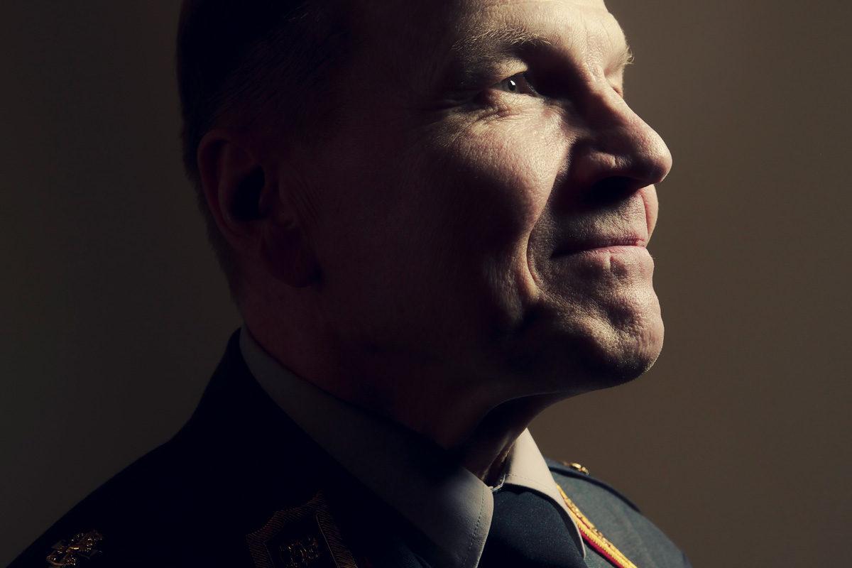 Kenraalimajuri Harri Ohra-aho johtaa Suomen sotilastiedustelua.