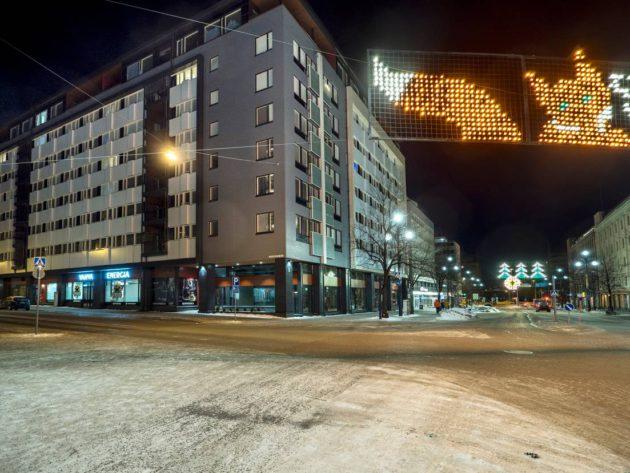 Salpausselän Rakentajat rakensi Nuorisosäätiölle asuntoja Lahden Aleksanterinkadulle.