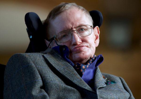 Stephen Hawking syyskuussa 2013.